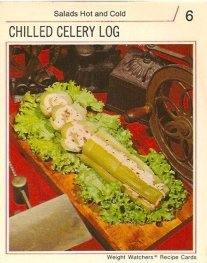 chilled celery log